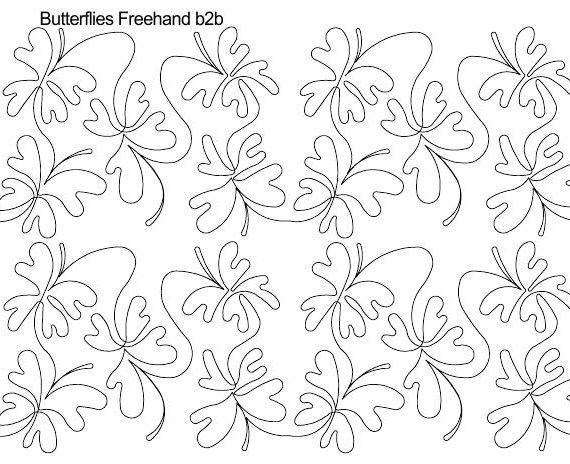 Butterflies Freehand